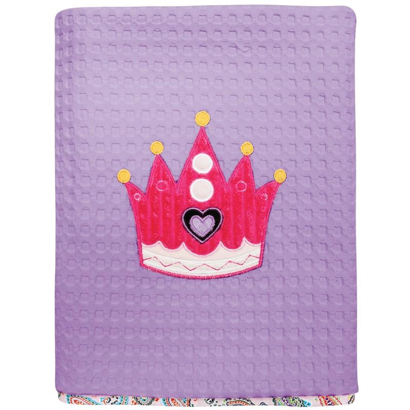 Βρεφική Κουβέρτα κούνιας Πικε 110x150cm Das home  baby Dream Embroidery 6398