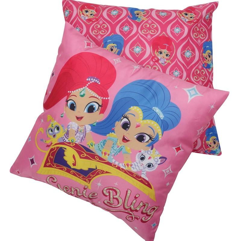 Μαξιλάρι Φιγούρας Das home 5501 40Χ40 Shimmer & Shine