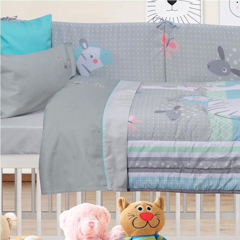 Βρεφικό Κουβερλί Das Home Baby Smile Digital  6459