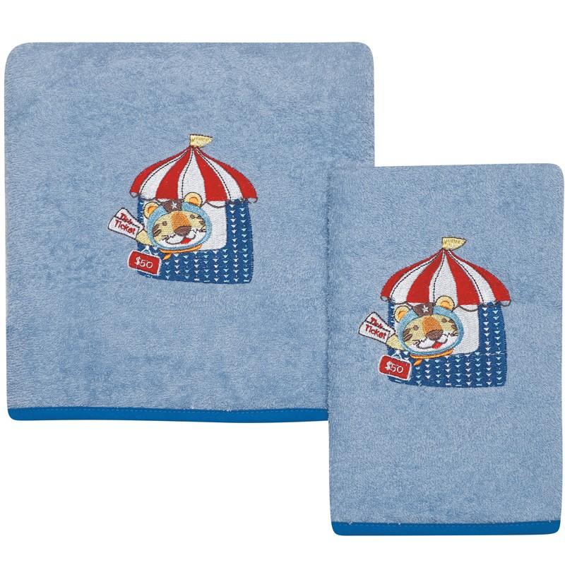Σετ Βρεφικές Πετσέτες Κεντητές 2 τεμαχίων Das Home Baby Dream 6456