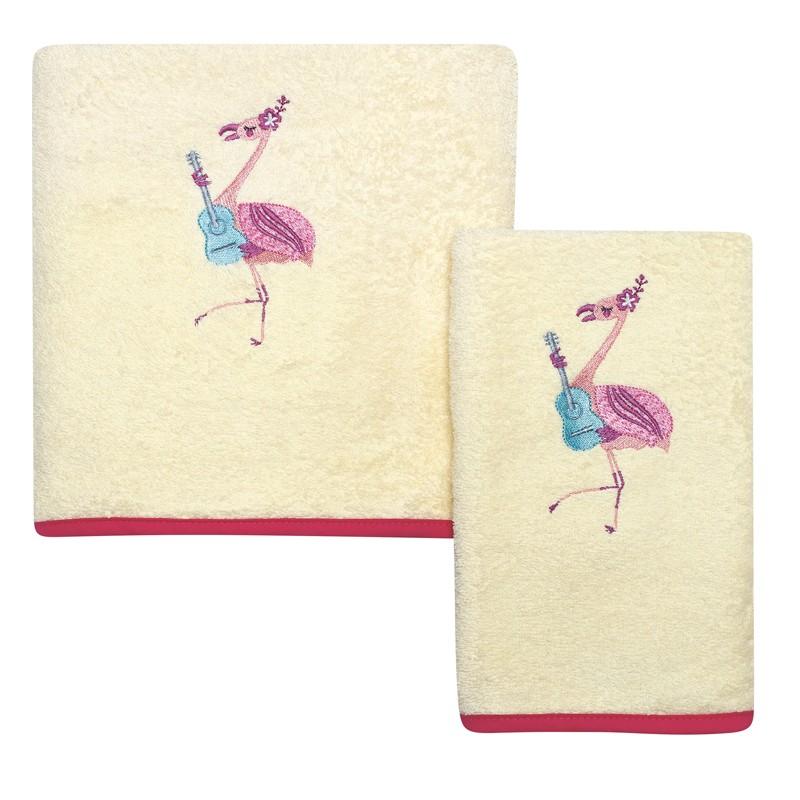 Σετ Βρεφικές Πετσέτες Κεντητές 2 τεμαχίων Das Home Baby Dream 6461