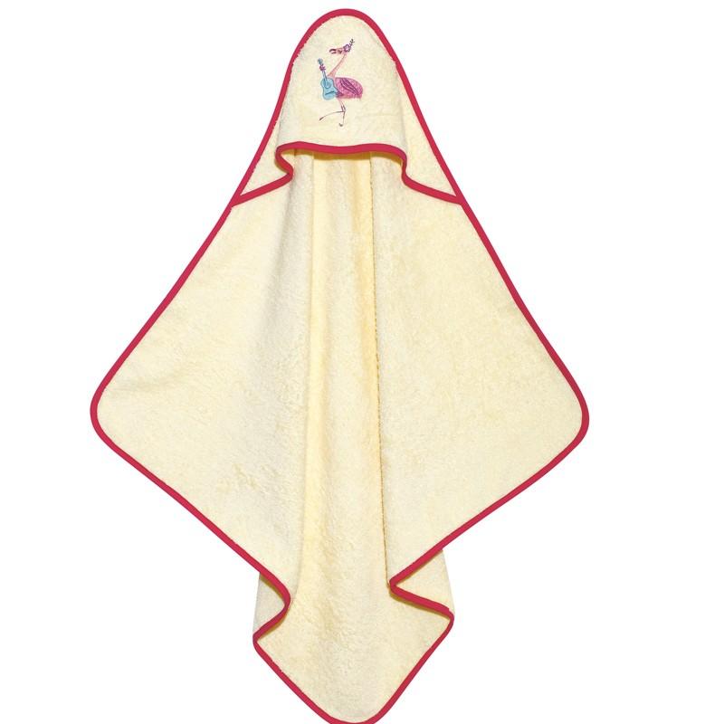 Βρεφικό Κάπα Μπουρνουζάκι Das Home Baby Smile Embroidery 6461