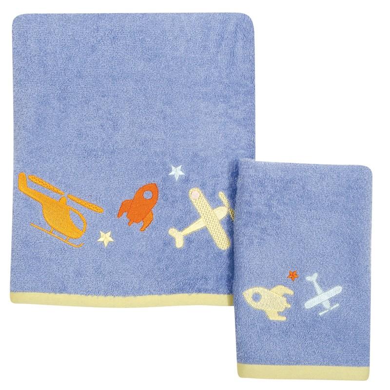 Σετ Βρεφικές Πετσέτες Κεντητές 2 τεμαχίων Das Home Baby Dream 6453
