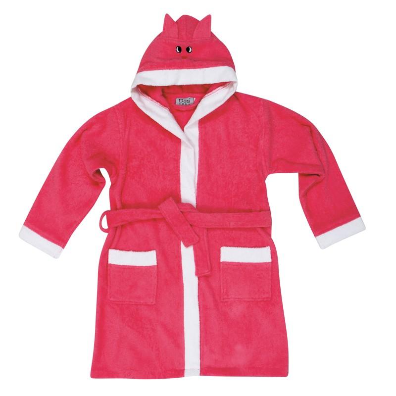 Βρεφικό Μπουρνουζακι με μανίκι Νο5-6  Das home Baby Smile Embroidery 6472