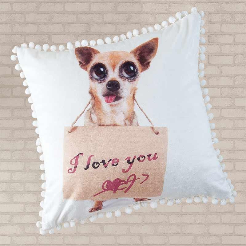 Μαξιλάρι Διακοσμητικό Das Home Cushion Line Fleece Code 060