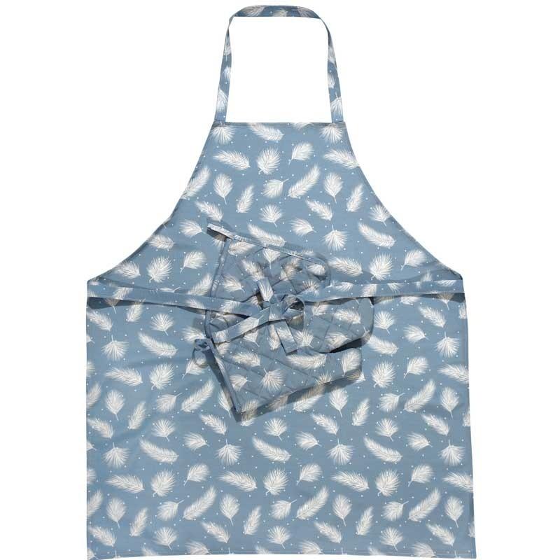 Σετ Κουζίνας 3τμχ (ποδιά,γάντι,πιάστρα) Das Home Kitchen Line Code 554