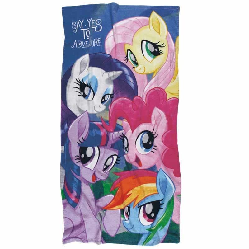 Πετσέτα Θαλάσσης Παιδική Das Home My Little Pony Code 5816 ΡΟΖ-ΛΙΛΑ
