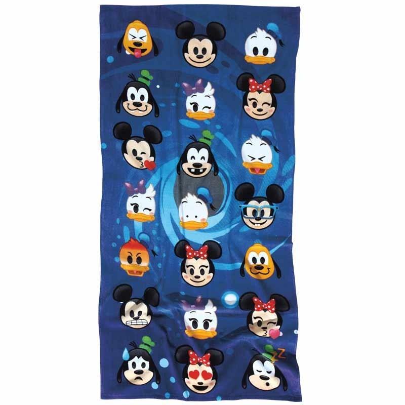 Πετσέτα Θαλάσσης Παιδική Das Home Disney Emoji Code 5820 ΜΠΛΕ