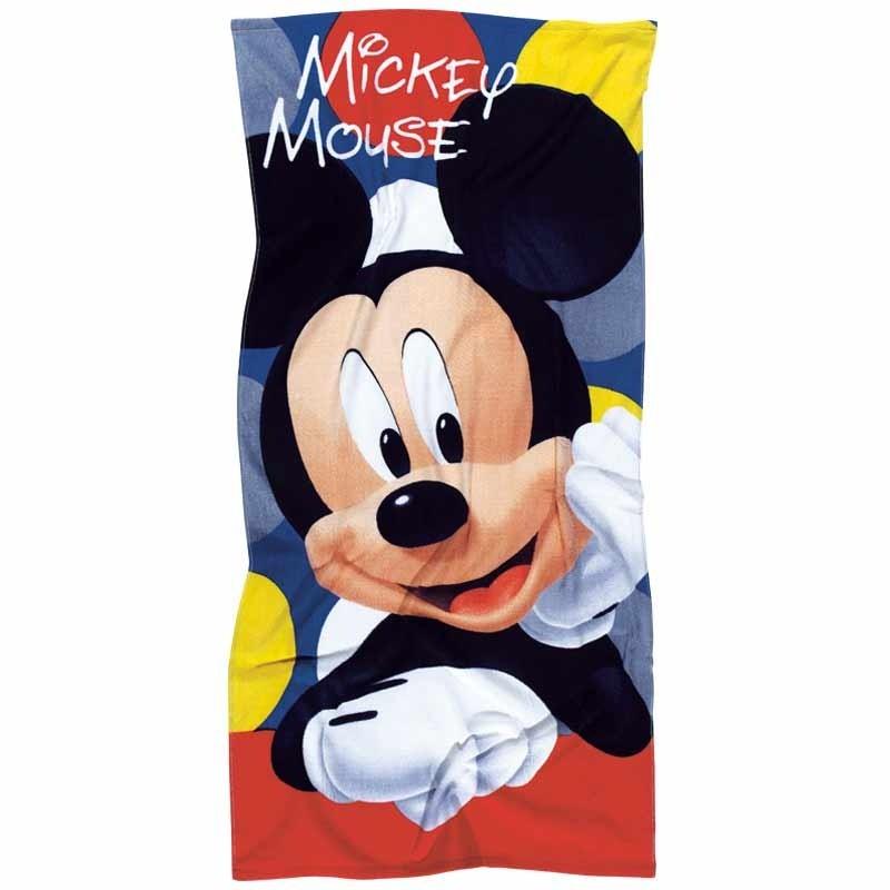 Πετσέτα Θαλάσσης Παιδική Das Home Mickey Code 5822 ΜΠΛΕ-ΜΑΥΡΟ