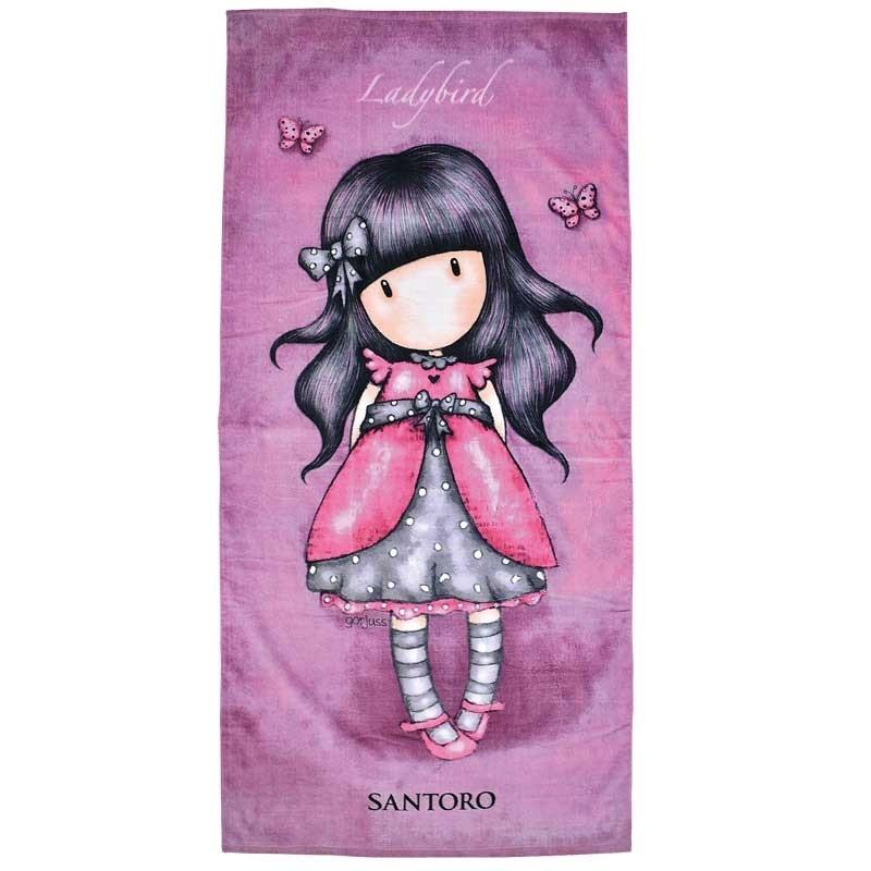 Πετσέτα Θαλάσσης Παιδική Das Home Santoro London Code 5827 ΦΟΥΞΙΑ