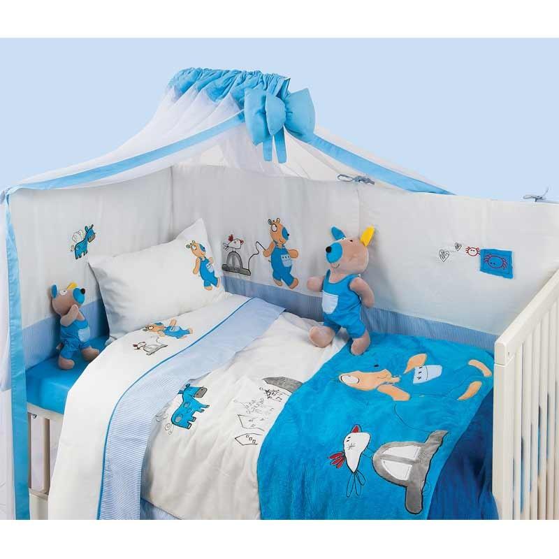 Σετ Κουβερλί για μωρά Das Home Dream Line Embroidery 6282