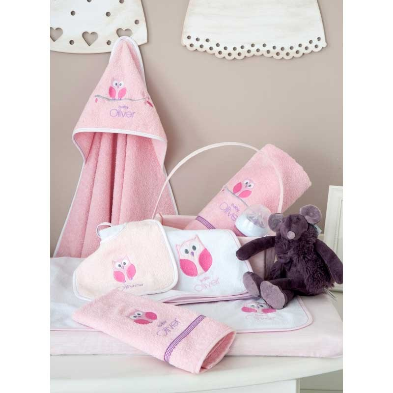 Καλαθάκι Καλλυντικών Baby Oliver Sweet Pink Owl Design 630