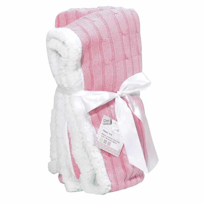 Βρεφική Κουβέρτα αγκαλιάς πλεκτή Das Home Code 6411