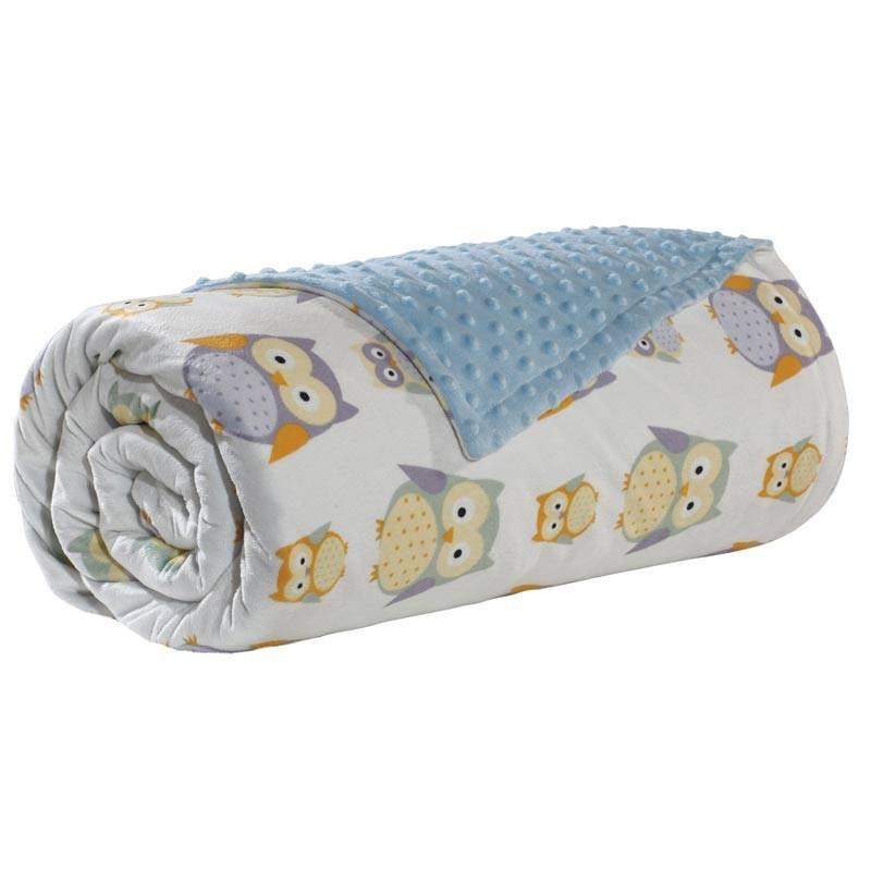 Βρεφική Κουβέρτα Αγκαλιάς Bubble Fleece Das Home Code 6484
