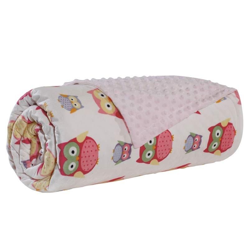 Βρεφική Κουβέρτα Αγκαλιάς Bubble Fleece Das Home Code 6485