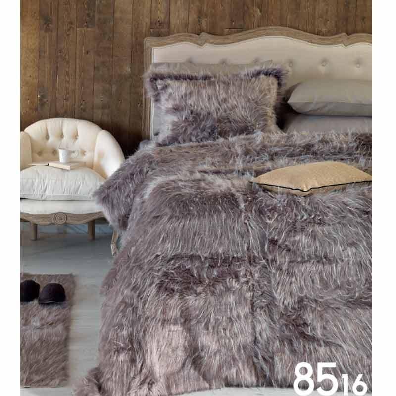 Σετ Ταπέτα Οικολογική Γούνα Palamaiki Ducale Ecological Fur 8516