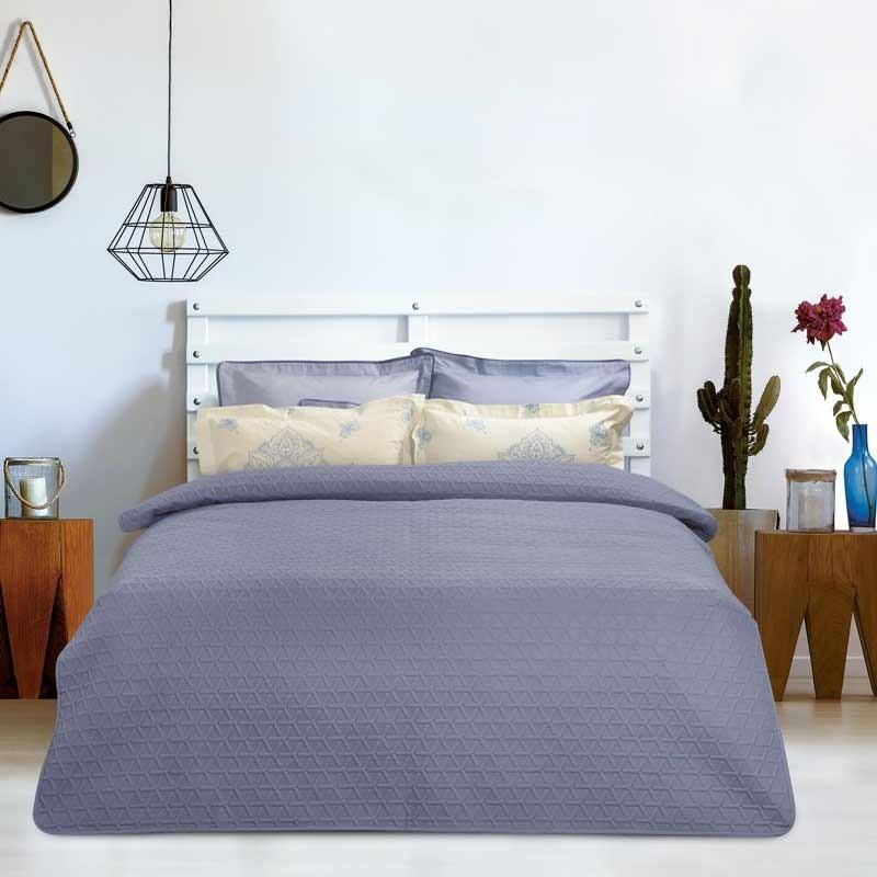 Κουβερλί Υπέρδιπλο Das Home Happy Line Micro Colours 9421