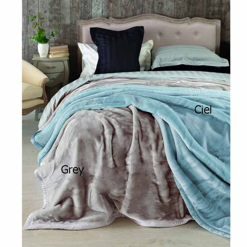 Κουβέρτα Velour Ημίδιπλη Palamaiki Dream Velour Grey