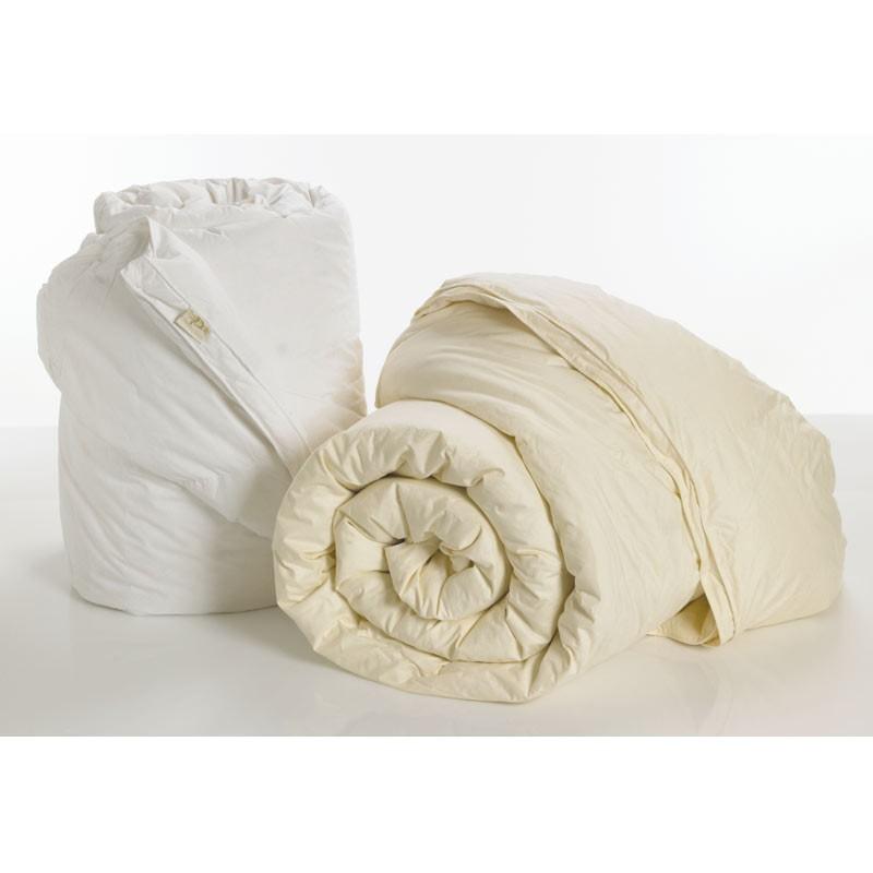 Πάπλωμα Πουπουλένιο Υπέρδιπλο Palamaiki White Comfort Ivory 95/5