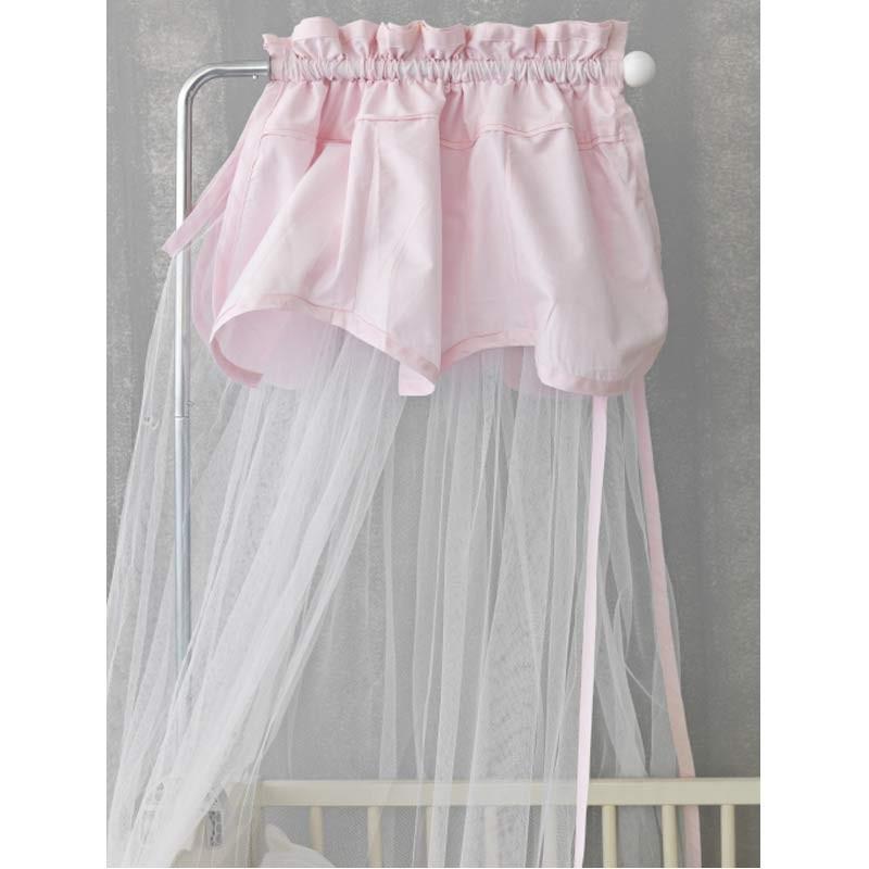 Κουνουπιέρα Βρεφική Palamaiki Happy Baby Collection Pink