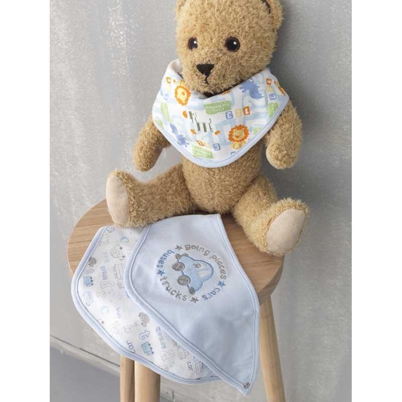 Βρεφικό σετ για δώρο 3 τμχ Palamaiki New Baby Collection NB-0107 Blue