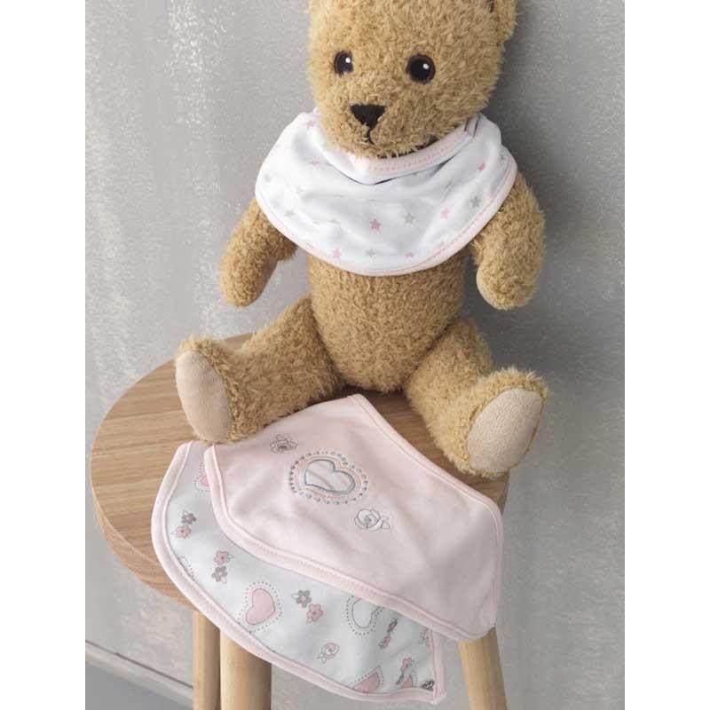 Βρεφικό σετ για δώρο 3 τμχ Palamaiki New Baby Collection NB-0107 Pink