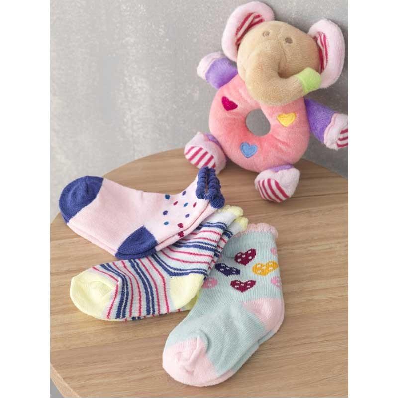 Βρεφικό σετ για δώρο 4 τμχ Palamaiki New Baby Collection NB-0108 Girl