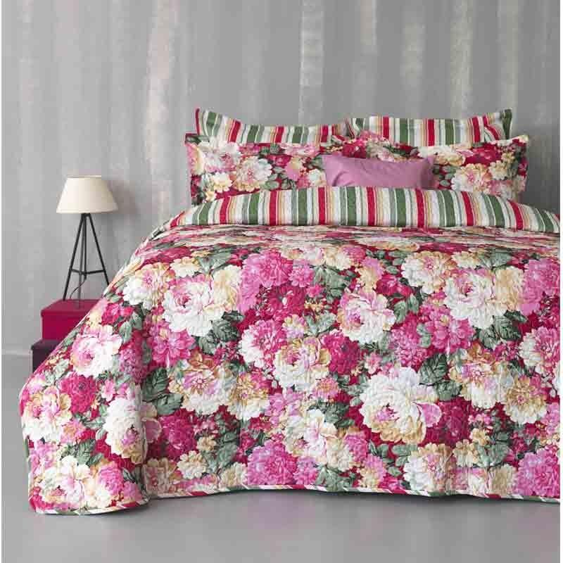 Κουβερλί Υπέρδιπλο και Σετ Σεντόνια Palamaiki Bed In A Bag B0617