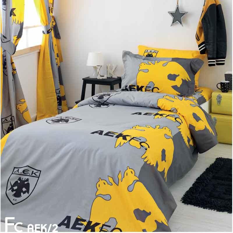 Σετ Σεντόνια Ημίδιπλα Palamaiki FC AEK/2