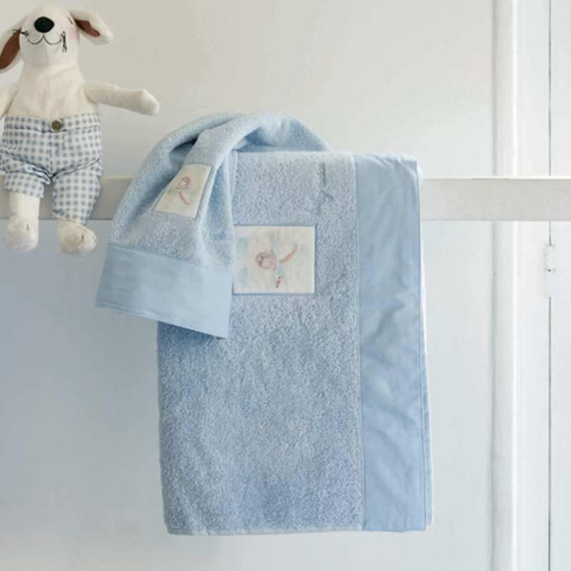 Σετ πετσέτες βρεφικές 2τμχ Makis Tselios home Aria