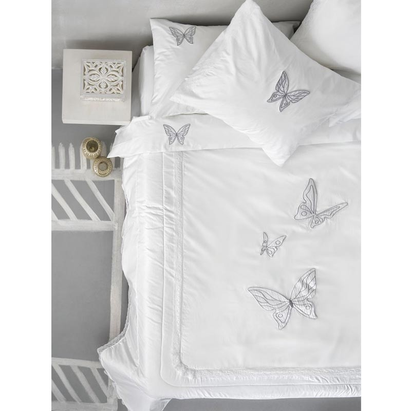 Νυφικό Σετ Σεντόνια Υπέρδιπλα Palamaiki Wedding Collection Armonia White