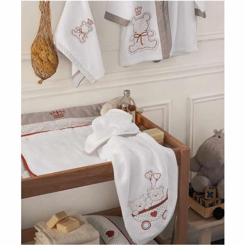 Σετ πετσέτες βρεφικές 2τμχ KENTIA Arturo