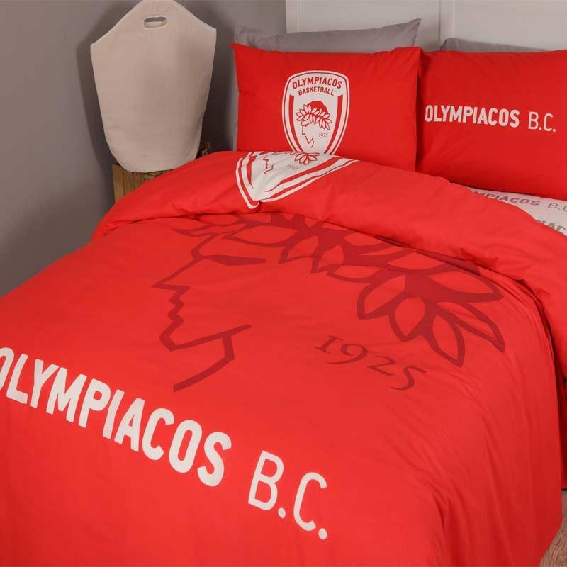 Σετ Κουβερλί Υπέρδιπλο Palamaiki Olympiakos BC 1925