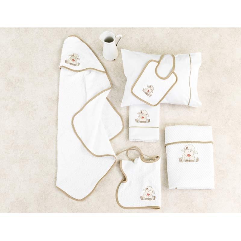 Κουβέρτα Κούνιας Πικέ Palamaiki Baby Joia Collection BJ863