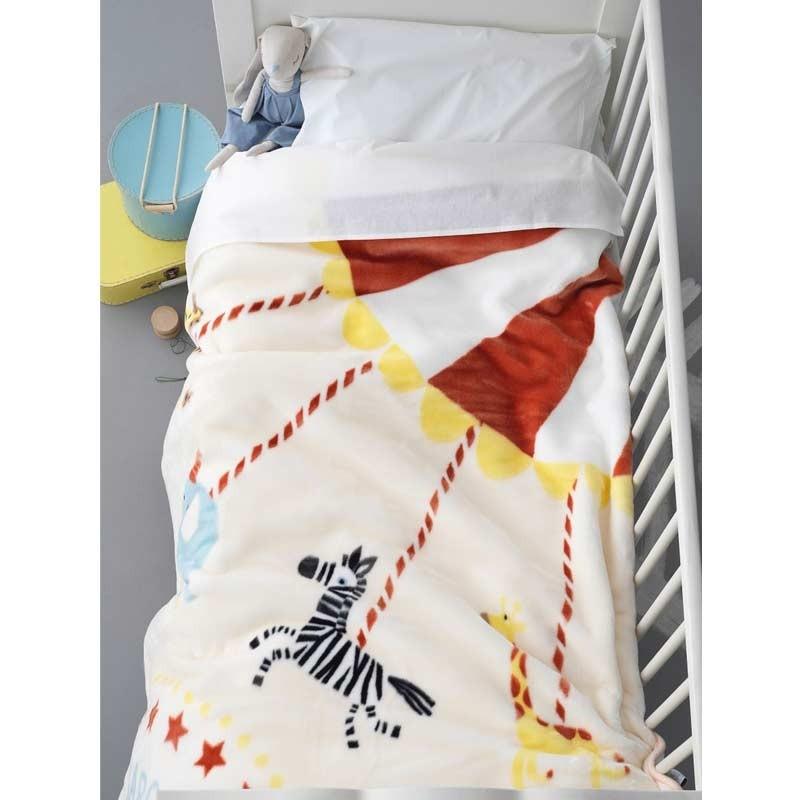 Κουβέρτα Κούνιας Βελουτέ Βρεφική Palamaiki Baby Velour BV718