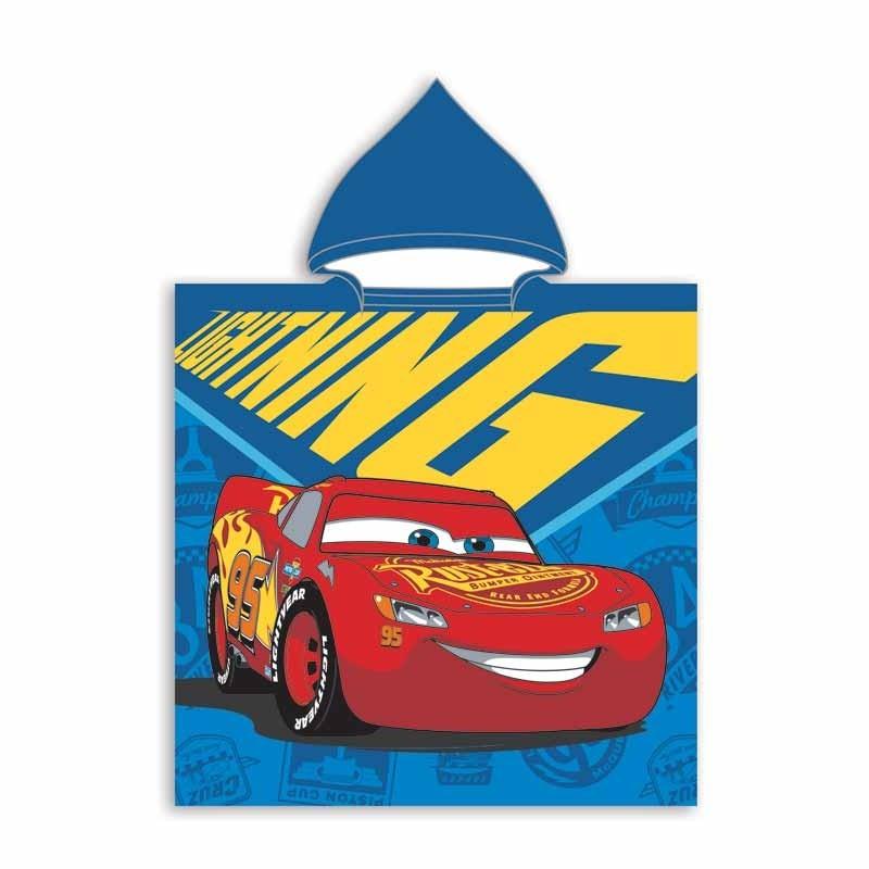 Παιδικό Πόντζο Παραλίας Dim Collection Disney Poncho Cars 01