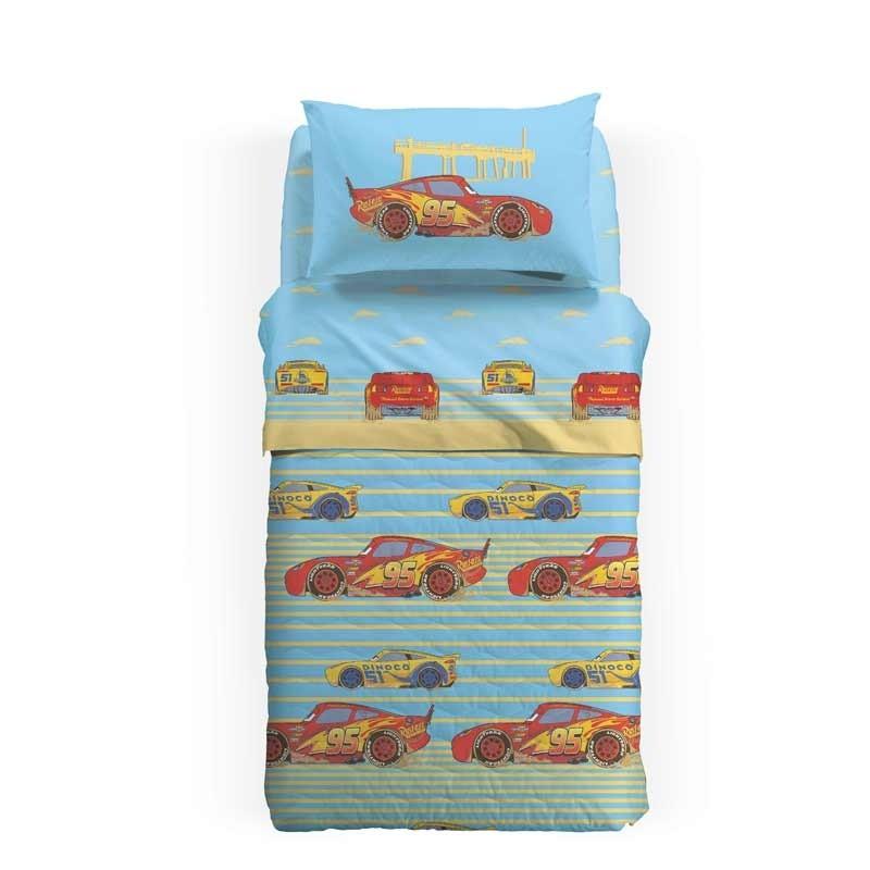 Κουβερλί Παιδικό Ημίδιπλο Palamaiki HOME Disney Cars Beach 8000842777933