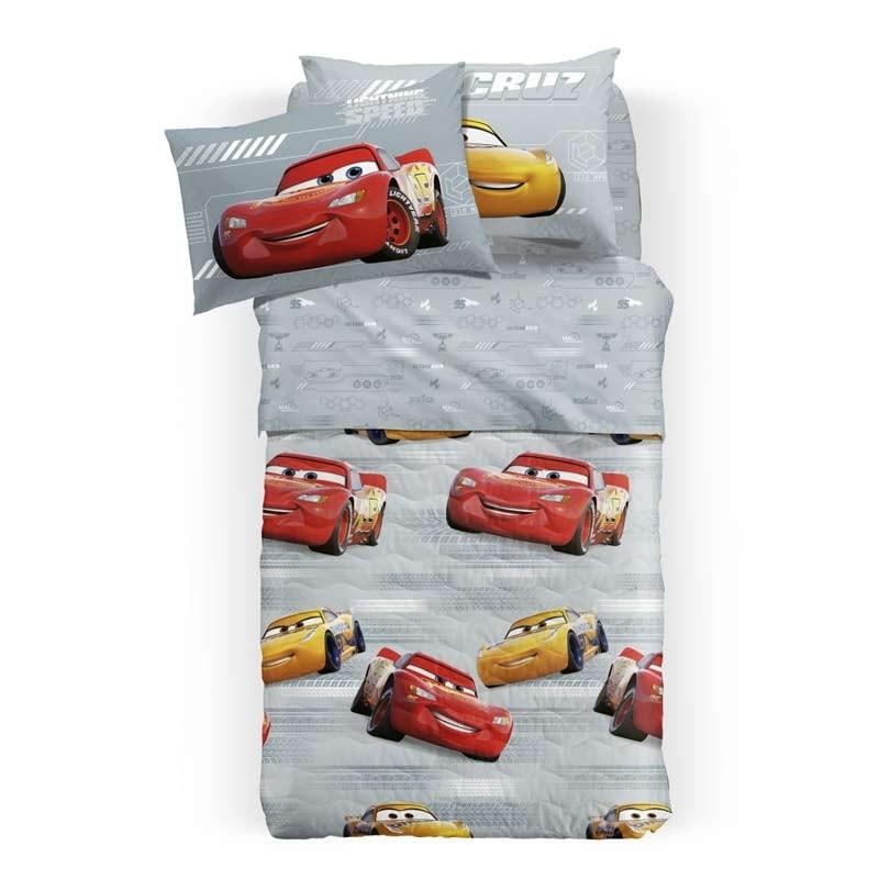 Σετ Σεντόνια Παιδικά Ημίδιπλα (Fitted) Palamaiki Disney Cars Turbo