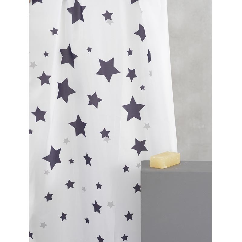 Κουρτίνα Μπάνιου (180x180) Palamaiki Shower Curtains Celest