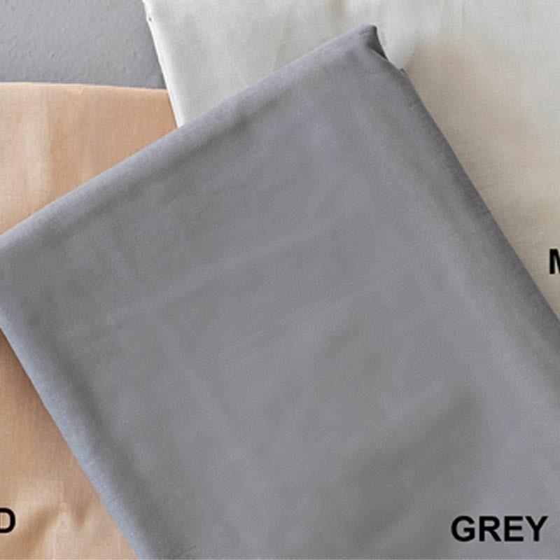 Σεντόνι Ημίδιπλο τμχ (Fitted) Μονόχρωμο Palamaiki Colour Rainbow Grey