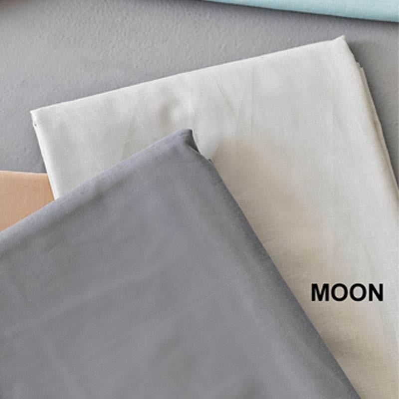 Σετ Σεντόνια Ημίδιπλα (Flat) Μονόχρωμα Palamaiki Colour Rainbow Moon