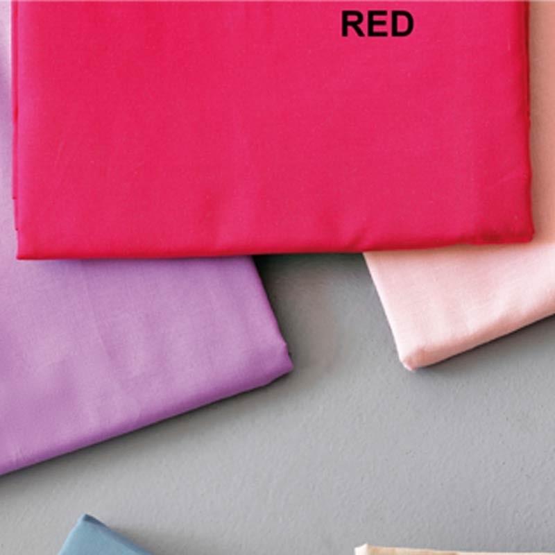 Ζεύγος Μαξιλαροθήκες Palamaiki Colour Rainbow Red