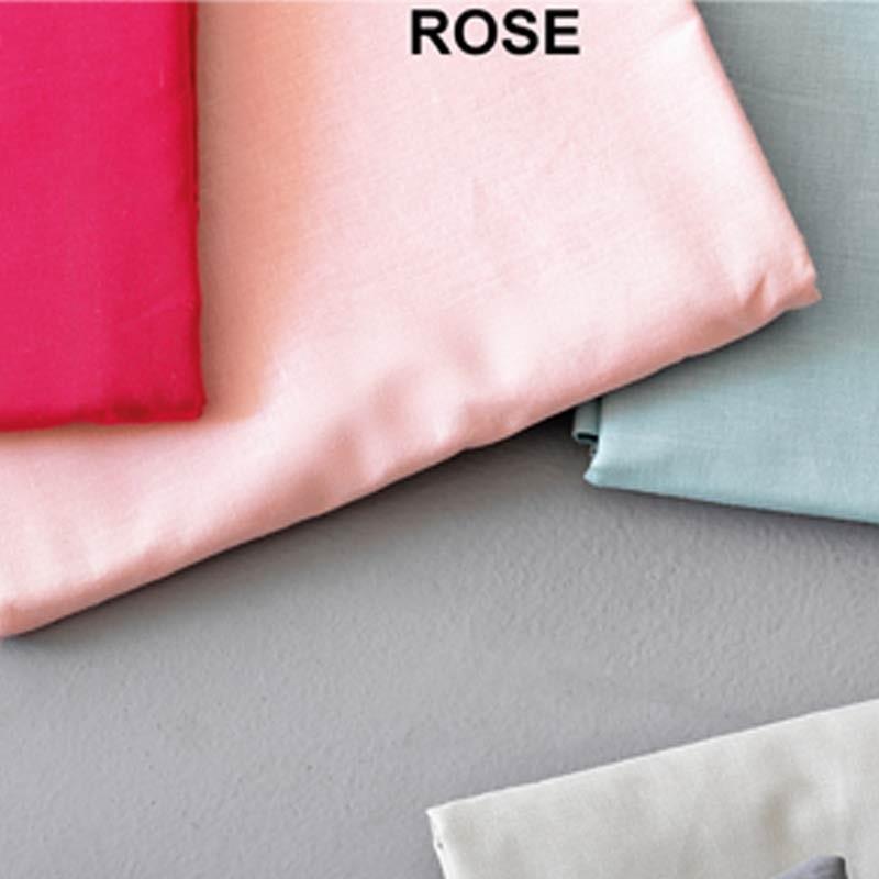 Σετ Σεντόνια Ημίδιπλα (Flat) Μονόχρωμα Palamaiki Colour Rainbow Rose