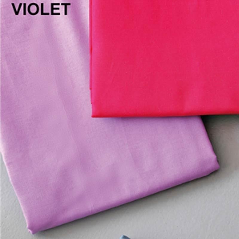 Σετ Σεντόνια Ημίδιπλα (Flat) Μονόχρωμα Palamaiki Colour Rainbow Violet
