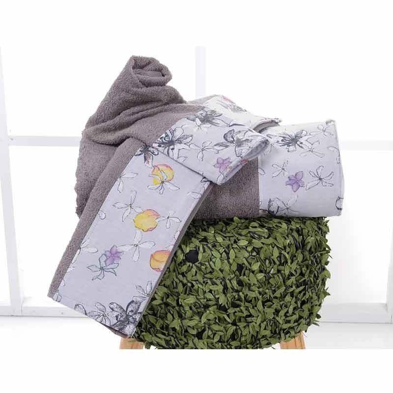 Σετ Πετσέτες 3τμχ Sb Home Erofili Towels 02.00265