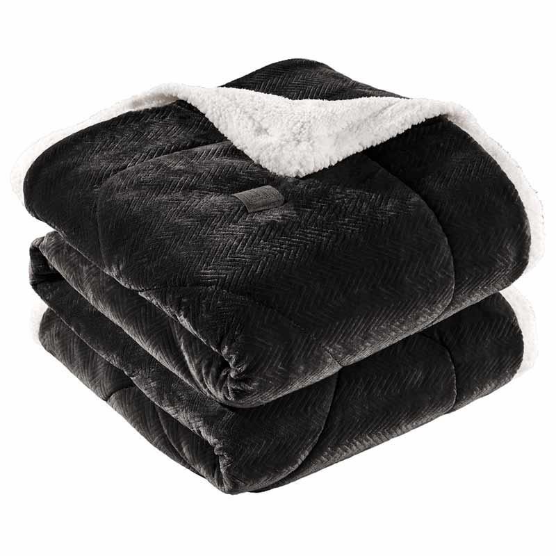 Κουβερτοπάπλωμα Μονό Guy Laroche Fabulous Black