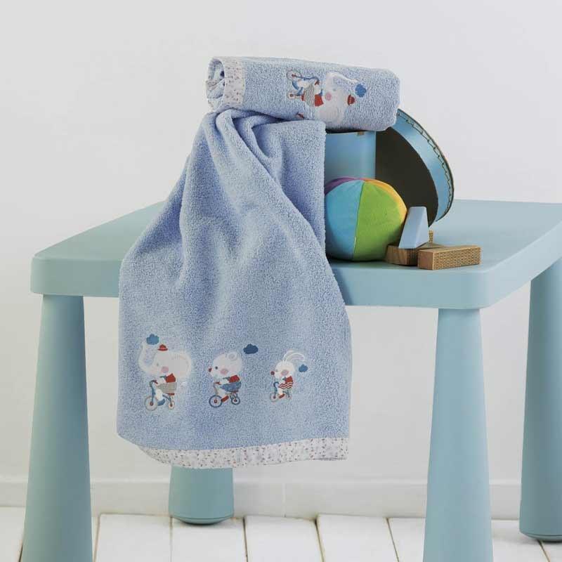 Σετ πετσέτες βρεφικές 2τμχ KENTIA Farm
