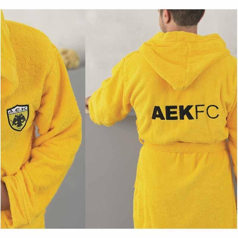 Μπουρνούζι (Medium) Palamaiki FC AEK Adults