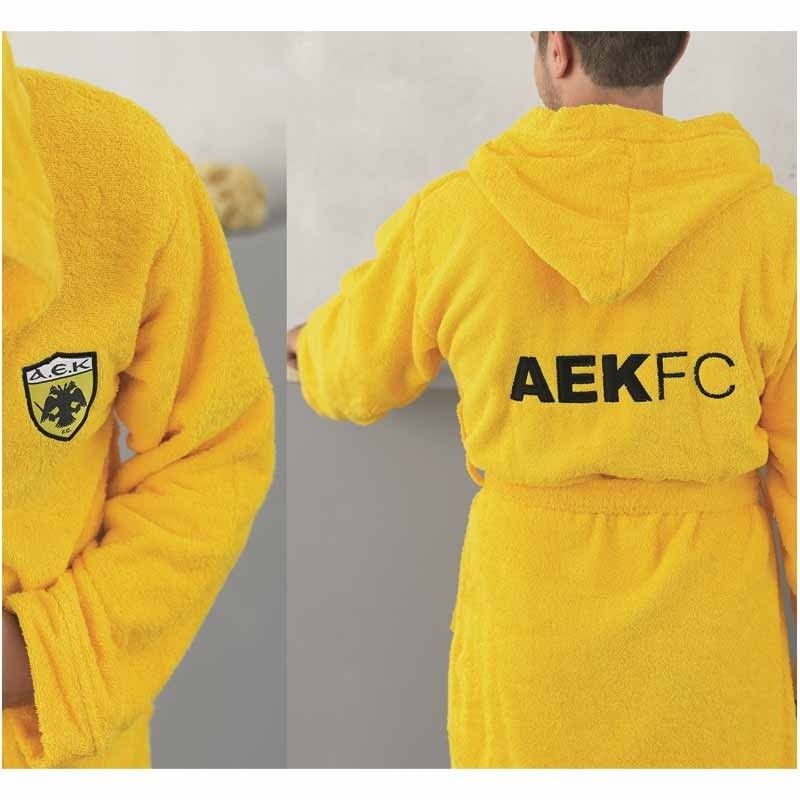 Παιδικό Μπουρνούζι (No 6-8) Palamaiki FC AEK Young