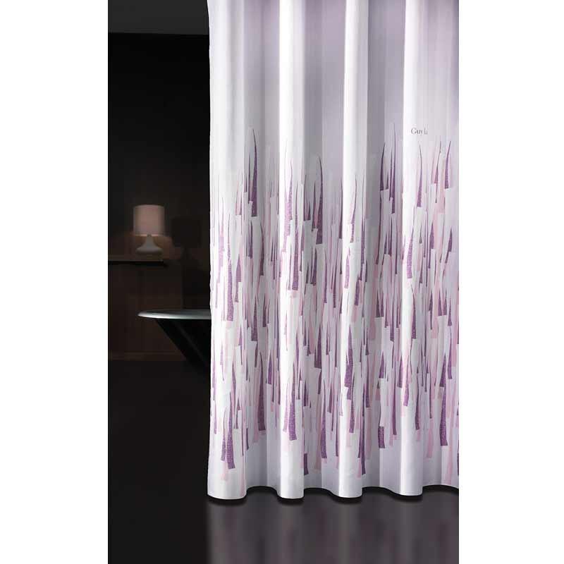 Κουρτίνα Μπάνιου (240x185) Guy Laroche Fiesta Pinky Lilac